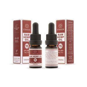CBD масло RAW 15% Endoca