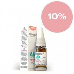 CBD масло Cibdol 10% 10 ml.