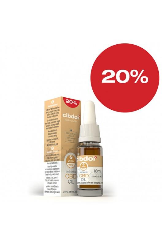 CBD масло CIbdol 10 ml 20%