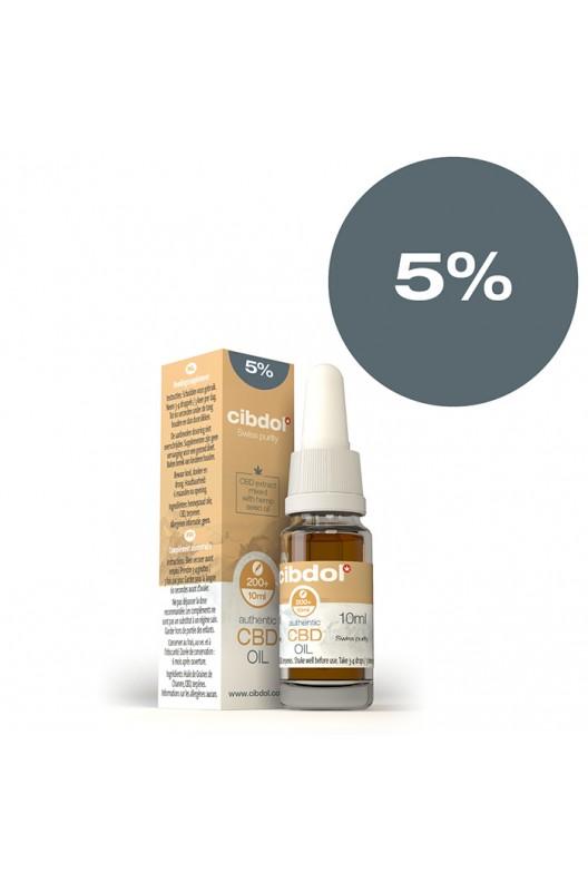 CBD масло CIbdol 10 ml 5%