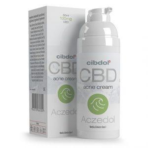 Акзедол - крем против акне с CBD
