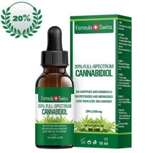 CBD Oil Formula swiss 20%