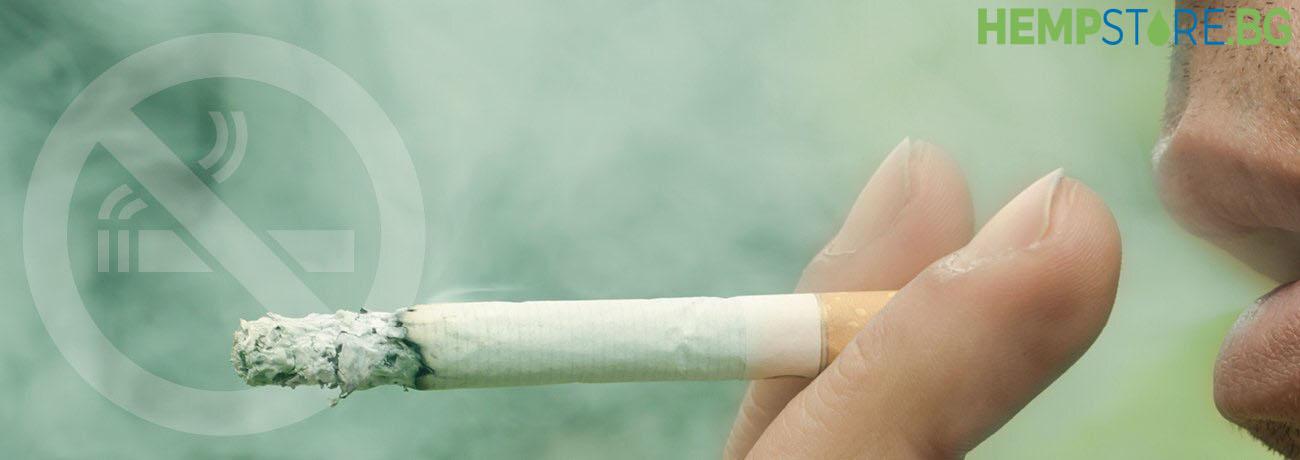 Може ли да смесвате CBD с никотин